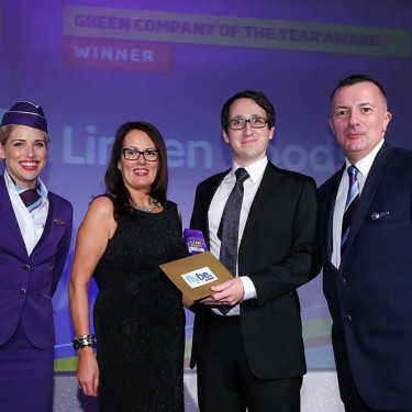 Press Eye - Belfast - Northern Ireland - 26th November 2015 -UTV Business Eye Awards  2015 Green Company of the Year Sponsored by FlyBe Picture by Kelvin Boyes / Press Eye.
